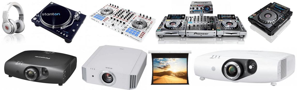 Equipos DJ - Proyectores